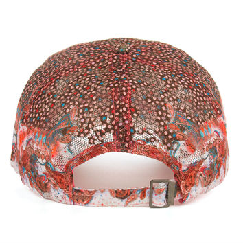 High Quality Colorful Flower Rhinestone Baseball Cap