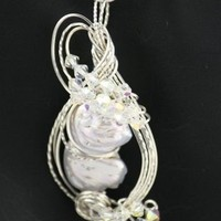 FABULOUS DOUBLE FRESHWATER PEARL PENDANT | IMPRESSIONSbyAnnie - Jewelry on ArtFire