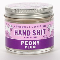 Hand Shit Hand Cream in Peony and Plum Scent