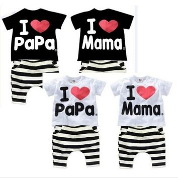 Tiantianhu Tracksuit Newborn Baby Boy Clothes Little Brother Romper Red Car Print Fashion Bebes Infantil Menino Baby Outfits