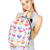 HEART EMOJI BACKPACK
