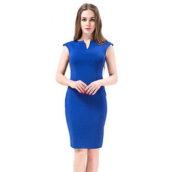 daf2f4bb361e Free Shipping Women Dress 2016 Summer Style Elegant Hot Sale Good Quality  Work Dress Famous Brand