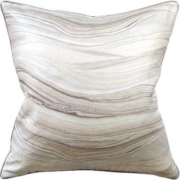 Envisioned Champagne Pillow