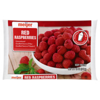 Meijer Frozen Red Raspberries, 12 oz