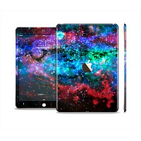 The Neon Colored Paint Universe Skin Set for the Apple iPad Air 2