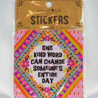 kind word stickers