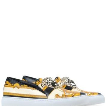 Versace Slip On Sneakers - Versace Women - thecorner.com
