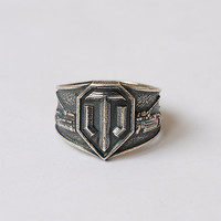 World of Tanks, WOT ring, WOT jewelry, Tank, Tank ring, World of Tanks jewelry, Men ring, Mens ring, Gift for men