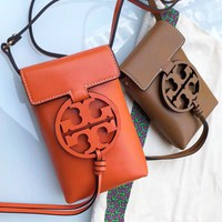 TORY BURCH Trending Women Small Bag Shoulder Bag Phone Bag B-XT-ZNSS Orange
