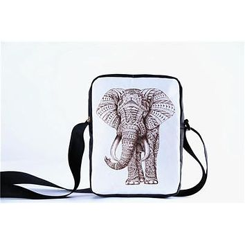Faux Leather Elephant Bag