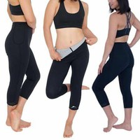 DELFIN SPA Heat Maximizing Capris 2 - Black