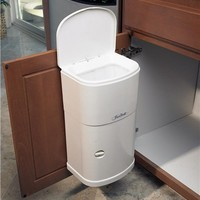 Cabinet Trash Can With Automatic Lid, 4 Gal. Capacity 415064