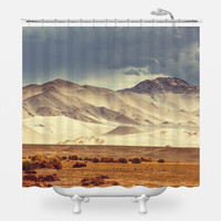 Argentinian Highlands Shower Curtain