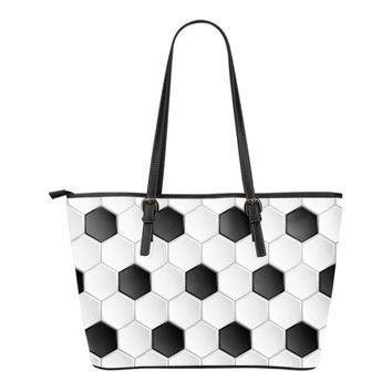 Day-First™ Soccer Pattern Tote Bag