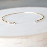 Barely There Bangle - Gold