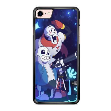 Undertale - Sans And Papyrus Waterfall iPhone 7 Case