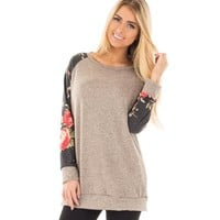 Winter Knit Print Long Sleeve T-shirts Size S-2XL [29174792207]