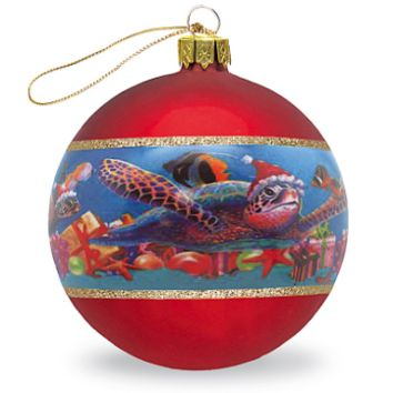 "Christmas Ornament ""Honu Christmas"""