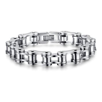 Awesome Stylish Great Deal Hot Sale Gift New Arrival Shiny Men Titanium Chain Bracelet [10783260355]