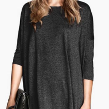 Solid Reputation Charcoal Tunic