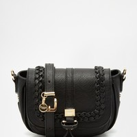 Dune Saddle Bag with Braid Detail