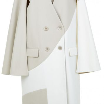 Tibi Siku Applique Maxi Coat