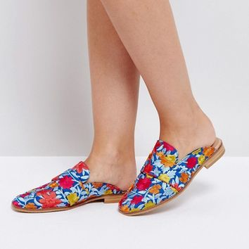 Free People Brocade At Ease Loafer at asos.com