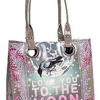 Love You To The Moon & Back Luxe Tote