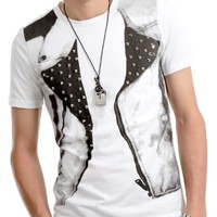 Mens Casual Stunning Design T-shirt