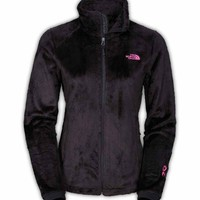 The North Face Pink Ribbon Osito 2 Jacket for Women in Black CZ24-JK3