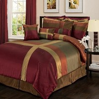 Lush Decor Iman 8-Piece Comforter Set, King