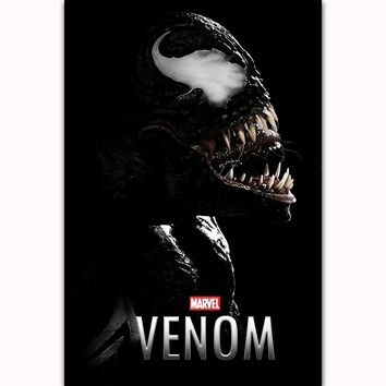 FX240 Hot Venom Tom Hardy New 2018 Marvel DC Movie Film Superhero Poster Art Silk Light Canvas Modern Home Room Wall Print Decor