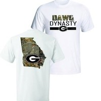Georgia Dawg Dynasty T-Shirt | UGA Dawg Dynasty T-Shirt | Georgia Bulldogs T-Shirts