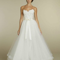 New Elegant A-line Wedding Dresses Fashion Applique Tulle Bridal Gown*Custom