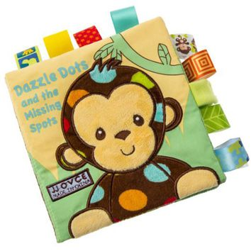 Baby Learning&Education Animal embroidery Soft Cloth Book animals Fabric Book Infant Baby Early Education Cloth Books