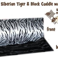 White Siberian Tiger Carrier Blanket