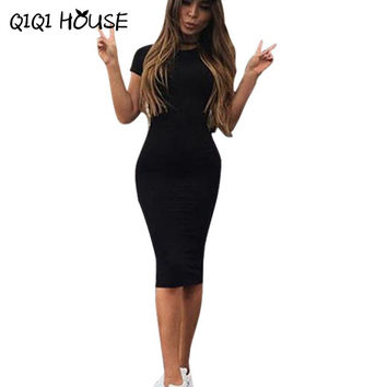 Summer Dress Bodycon Dress Shirt Dresses Slim Short Sleeve Sportswear Sexy Girls Bodycon Dress Vestidos Cortos#212