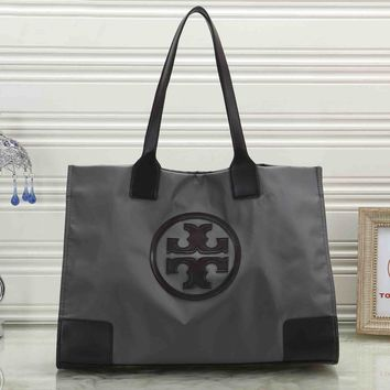 Tory Burch Trending Women Stylish Handbag Tote Shoulder Bag Grey