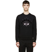 Black Eye Embroidered Sweatshirt