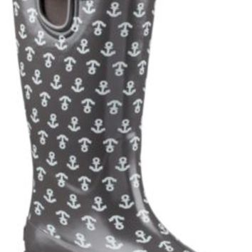 Sperry Top-Sider Pelican III Rain Boot GraphiteAnchor, Size 7M  Women's Shoes