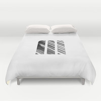 M Strokes Duvet Cover by Matt Irving
