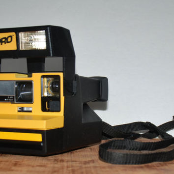 Vintage Job Pro Polaroid Instant Camera 600 Film 1970s 007
