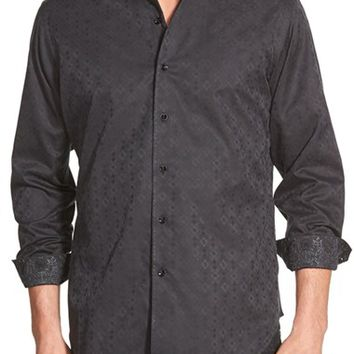 Men's Robert Graham 'O'Donnell' Classic Fit Jacquard Sport Shirt,