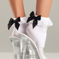 Satin Bow Anklets