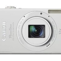 Canon PowerShot ELPH 530 HS 10.1 MP Wi-Fi Enabled CMOS Digital Camera with 12x Optical Image Stabilized Zoom 28mm Wide-Angle Lens with 1080p Full HD Video and 3.2-Inch Touch Panel LCD (White) (Discontinued by Manufacturer)