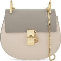 CHLOE - Drew small saddle cross-body bag | Selfridges.com