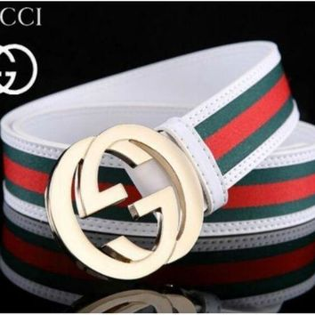 DCCKON GUCCI BELT MEN WOMEN MESSENGER BAG 1688