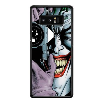 Joker Harley Quinn Batman Avengers Samsung Galaxy Note 8 Case