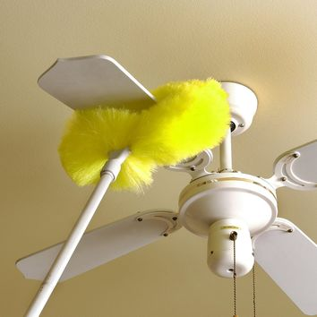 Ceiling Fan Duster-Microfiber-Removable/Washable-Extend Approx. 4 Feet