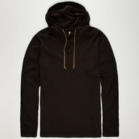 Volcom Burnout Mens Hooded Thermal Black  In Sizes